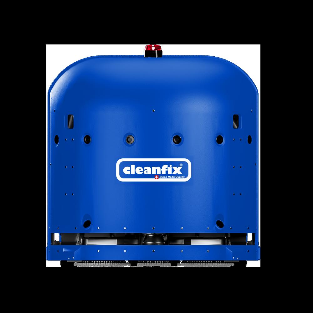 blue Cleanfix RA660 Navi robotic floor scrubber, scrubber drier