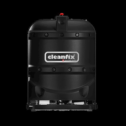 black robotic floor scrubber RA660 Navi XL from Cleanfix