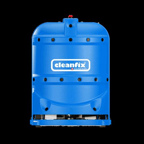 blue robotic floor scrubber RA660 Navi XL from Cleanfix