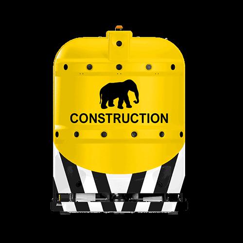 construction robotic floor scrubber RA660 Navi XL from Cleanfix