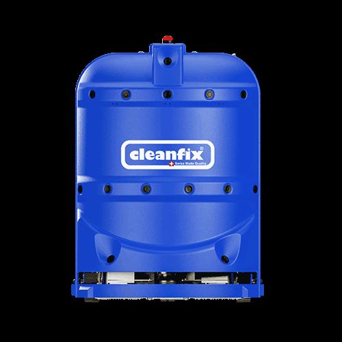 dark blue robotic floor scrubber RA660 Navi XL from Cleanfix