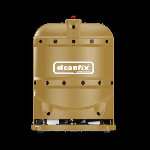 golden robotic floor scrubber RA660 Navi XL from Cleanfix