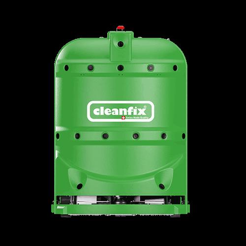 green robotic floor scrubber RA660 Navi XL from Cleanfix