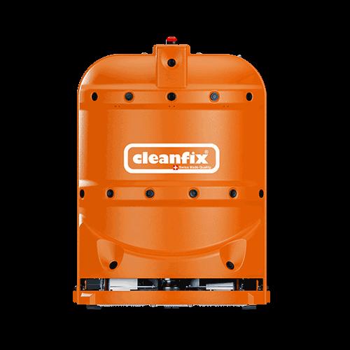 orange robotic floor scrubber RA660 Navi XL from Cleanfix