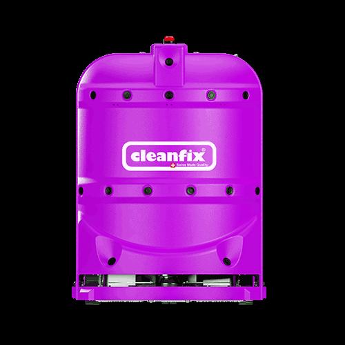 purple robotic floor scrubber RA660 Navi XL from Cleanfix