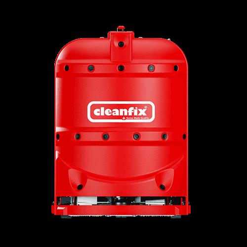 red robotic floor scrubber RA660 Navi XL from Cleanfix
