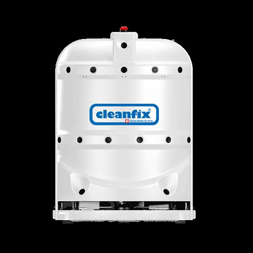 white robotic floor scrubber RA660 Navi XL from Cleanfix