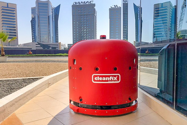 Cleanfix RA660 Navi & RA660 Navi XL now available in the United Arab Emirates.